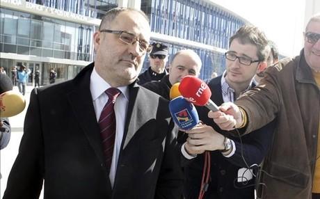 El expresidente del Zaragoza, Agapito Iglesias