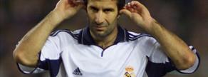 El 21 de octubre de 2000 Figo regresó al Camp Nou vestido de blanco. La pitada de desprecio de la hinchada azulgrana superó todo lo imaginable