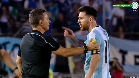El tremendo enfado de Messi con el árbitro del Argentina-Chile