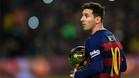 Messi tiene opciones de llevarse el Balón de Oro