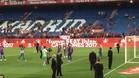 Milan y Sasha Piqué, protagonistas inesperados en el Vicente Calderón