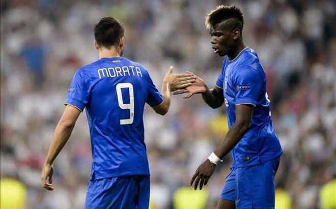 Morata y Pogba quieren seguir en Tur�n.