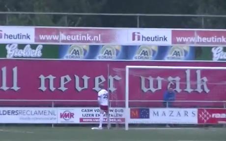 El portero Arjan Kok, la sensaci�n del f�tbol holand�s
