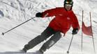 Schumacher, esquiando en una imagen de archivo