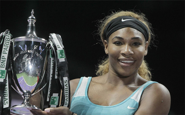 Serena Williams conquista las WTA Finals