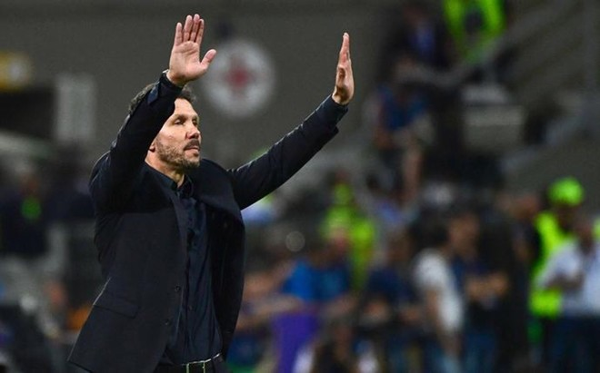 Simeone no puso excusas y no descart� su marcha del Atl�tico
