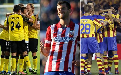 Sevilla, Atl�tico y Valencia luchar�n por meterse en Champions