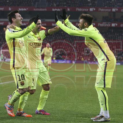 صور : مباراة أتليتيكو بلباو - برشلونة  2-5 ( 08-02-2015 ) 1423435690850