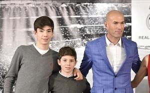 Dos de los hijos de Zidane están incluidos en la sanción