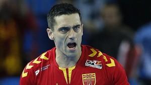 Kiril Lazarov ha marcado 31 goles en los tres partidos disputados