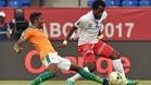 Costa de Marfil y el Congo empataron (2-2), en en la segunda jornada del grupo C de la Copa de África