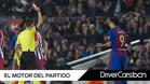El FC Barcelona acabó con dos futbolistas menos