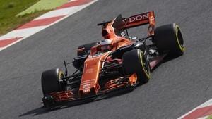 Vandoorne también ha sufrido con el McLaren