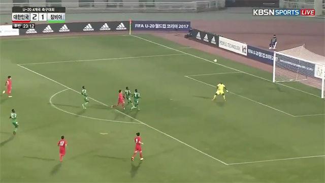 El golazo de Lee contra Zambia