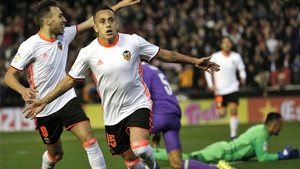 El Valencia ya ganó al Real Madrid en el partido de la primera vuelta