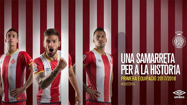 Así es la nueva equipación del Girona