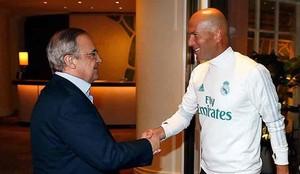Florentino se reunió con Zidane
