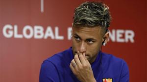 Neymar Junior mantiene el silencio sobre su futuro en el Barça y el interés del PSG