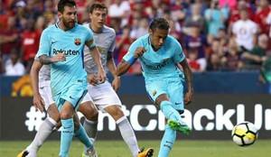 Neymar volvió a marcar para el Barcelona