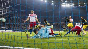 Kagawa inauguró el marcador en Hamburgo