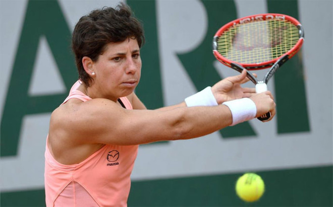 Carla Su�rez ya est� en tercera ronda de Roland Garros