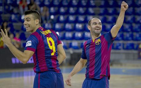 Entre Lozano y Wilde marcaron tres de los cinco goles del Bar�a