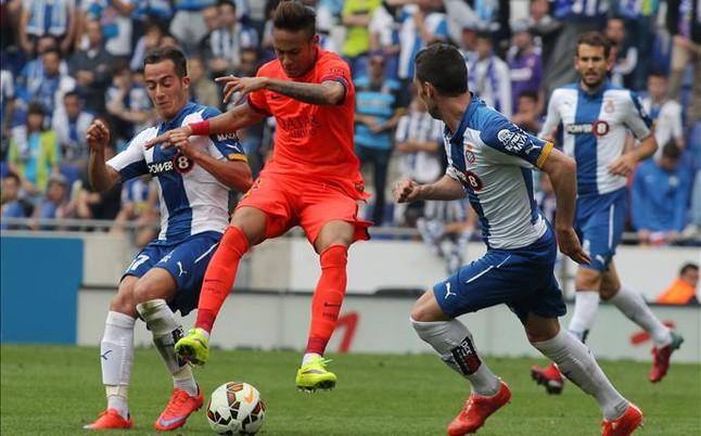 Competición  multa con 1.500 euros al Espanyol por el derbi