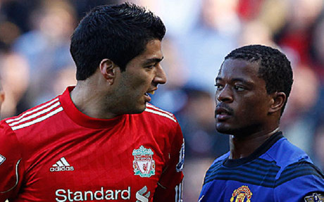 It's Suarez v Evra again