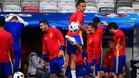 Lucas V�zquez se encuentra concentrado con 'La Roja'