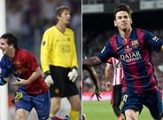Messi contra Messi por un puesto en semifinales
