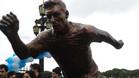 Vea la estatua de Messi inaugurada en Buenos Aires