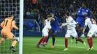 El Sevilla sufrió ante un Leicester que le sorprendió