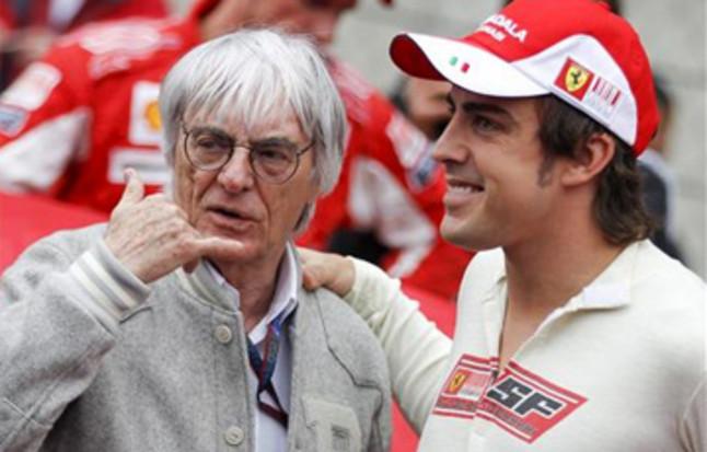 Ecclestone volvió a elogiar a Alonso