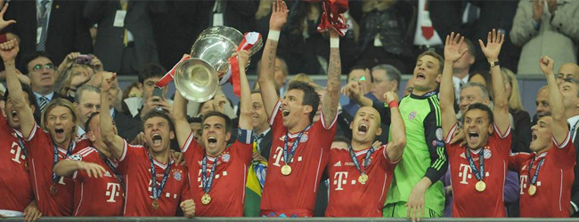 Robben le dio la Champions al Bayern en el último minuto