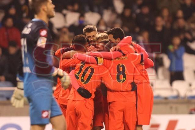 صور : مباراة ديبورتيفو لاكورونيا - برشلونة 0-4 ( 18-01-2015 )  1421614444760