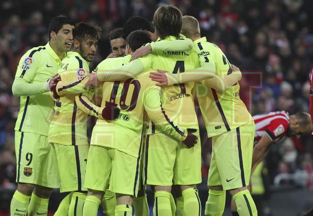 صور : مباراة أتليتيكو بلباو - برشلونة  2-5 ( 08-02-2015 ) 1423435406160