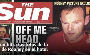 Esta es la imagen publicada por The Sun