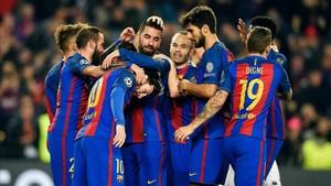 El Barça se clasificó como primero de grupo para los octavos de final de la Champions.