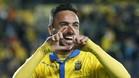 Momo fue uno de los protagonistas del último triunfo de la UD Las Palmas en el Estadio Gran Canaria, contra el Athletic