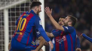 El Barça acabó bien el año