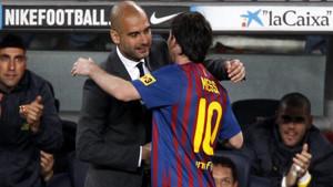 Pep Guardiola quiere volver a entrenar a Messi