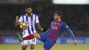 Sergi Roberto volverá a enfrentarse a Willian José