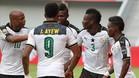 El gol de Asamoah Gyan fue suficiente para que Ghana se impusiera a Mali