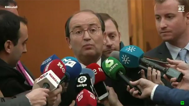 José Castro envía un mensaje a Sergio Ramos