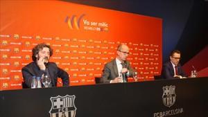 Cardoner se posicionó al lado de Piqué en sus polémicas declaraciones realizadas ayer en París