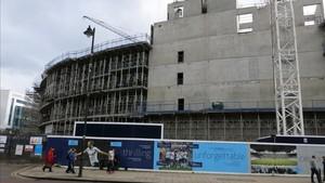 El Tottenham avanza en la construcción de su nuevo estadio