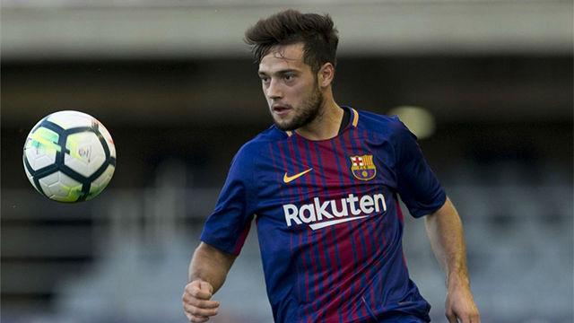 LALIGA 123   Barça B - Lorca (1-0): La jugada messiánica de José Arnáiz