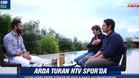Arda Turan, durante la entrevista