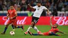 Alemania resiste ante una Chile muy intensa