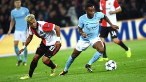 Contundente goleada del City ante el Feyenoord